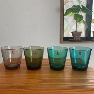 イッタラ(iittala)のイッタラ カルティオ グラス 4個❣️(グラス/カップ)