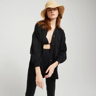 SeaRoomlynn - シールームリンsearoomlynn リネンコンビニットシャツジャケット