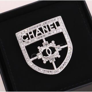 CHANEL - 一点 シャネル chanel  シルバー ブローチ