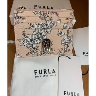 Furla - フルラFURLAコンパクト財布カードケース花柄