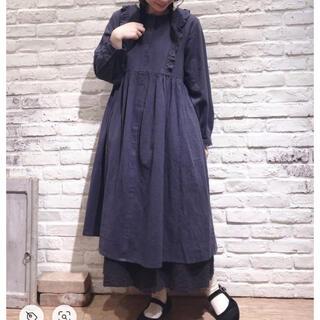 SM2 - sm2 綿麻フリル ワンピース 新品タグつき サマンサモスモス