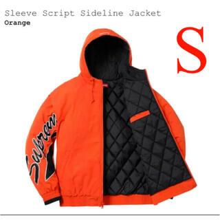 Supreme - supreme Sleeve Script Sideline Jacket S