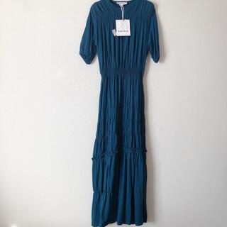 ENFOLD - 定価42900円 enfold ワンピース シャーリングティアードドレス