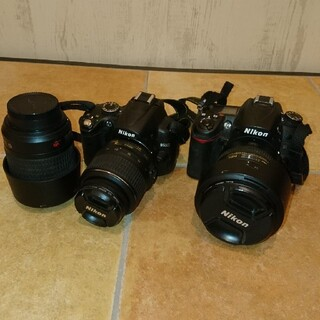 Nikon - Nikon D7000 D3000 NIKKOR 55-200mm 3点セット