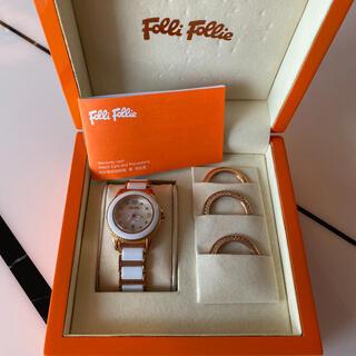 フォリフォリ(Folli Follie)の美品♡限定 フォリフォリ腕時計(腕時計)