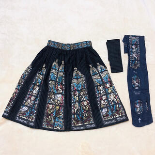 Innocent World - 天使達のステンドグラス・スカートとタイツセット