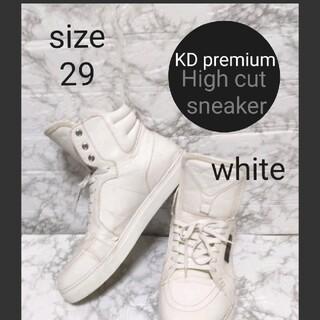 アヴァランチ(AVALANCHE)のKD premium High cut sneaker【29】クライムスニーカー(スニーカー)
