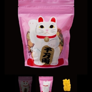 冨貴寄にゃんにゃん 白猫(菓子/デザート)
