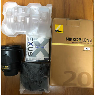 Nikon - NIKON AF-S NIKKOR 20mm f1.8G ED おまけ