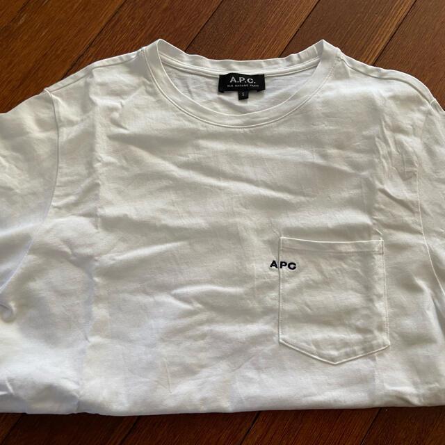 A.P.C(アーペーセー)のA.P.C.(アーペーセー) Emblem ポケットTシャツ レディースのトップス(Tシャツ(半袖/袖なし))の商品写真
