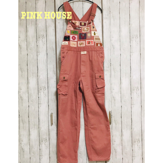 PINK HOUSE - ⚫︎美品⚫︎PINK HOUSE ピンク オーバーオール サロペット