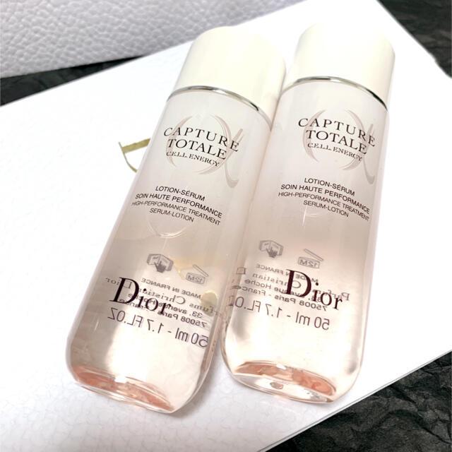 Dior(ディオール)のディオール カプチュール トータル セル ENGY ローション50ml×2 コスメ/美容のスキンケア/基礎化粧品(化粧水/ローション)の商品写真