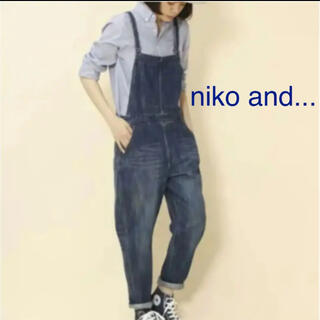 niko and... - niko and... デニムサロペット