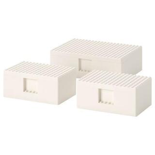 イケア(IKEA)のあーちゃん様専用★イケア★LEGO/レゴ★BYGGLEK/ビッグレク★3点セット(積み木/ブロック)