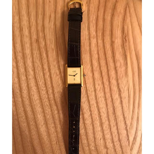Cartier(カルティエ)のカルティエ マストタンク 1980 / cartier tank メンズの時計(腕時計(アナログ))の商品写真