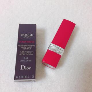 Dior - Dior ルージュディオールウルトラルージュ 843