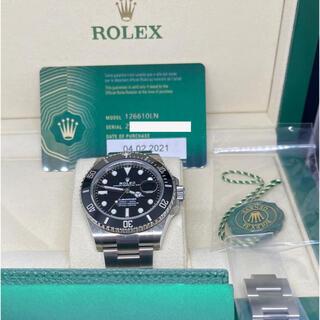 ROLEX - ★ ロレックス 新型 サブマリーナ 126610LN 2月購入★