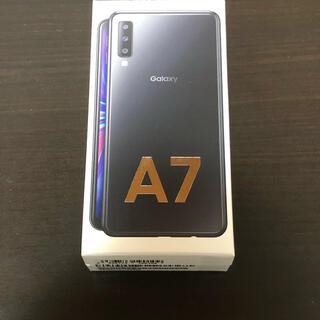 Galaxy - Galaxy A7 ブラック 楽天モバイル