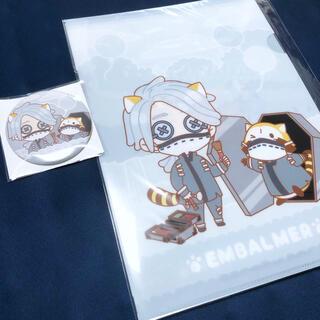 ラクテン(Rakuten)の楽天コレクション 楽コレ 第五人格 ラスカル 納棺師 クリアファイル 缶バッジ(バッジ/ピンバッジ)