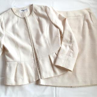 NATURAL BEAUTY BASIC - ナチュラルビューティベーシック スカート スーツ 入学式