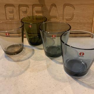 イッタラ(iittala)のイッタラ カルティオ グラス 4個(グラス/カップ)