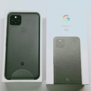 Google Pixel - 【新品】 Google Pixel5 Just Black 国内版 SIMフリー