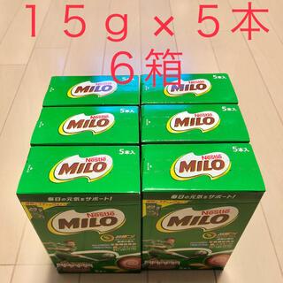 ネスレ(Nestle)のネスレ ミロ スティック 15g × 5本入 6箱 ★送料無料★  ②(その他)