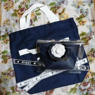 M'S GRACY - ((最終価格))新品未使用 エムズグレイシー バッグ、カメリアポーチセット