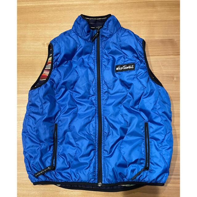 WILDTHINGS(ワイルドシングス)のワイルドシングス ベスト 難燃素材 リバーシブル メンズのジャケット/アウター(ダウンベスト)の商品写真