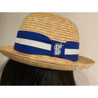 ヨコハマディーエヌエーベイスターズ(横浜DeNAベイスターズ)の麦わら帽子 横浜DeNAベイスターズ(応援グッズ)