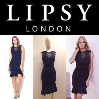 リプシー(Lipsy)の【LIPSY】2018SS レース付きミニドレス♡ ワンピース(ミニワンピース)