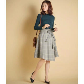 Swingle - Swingle ◆ リボン付きアシンメトリースカート ◆
