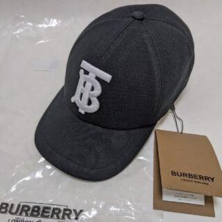 BURBERRY - 【新品正規品☆】Burberryモノグラムモチーフ コットン キャップ