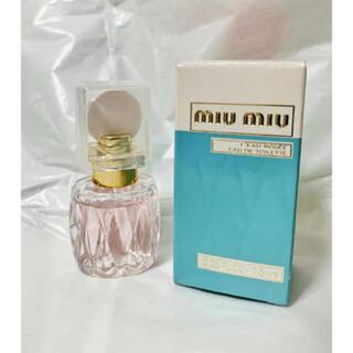 miumiu - MIUMIU ミュウミュウ 香水 ローロゼオードトワレ ミニサイズ 新品未使用