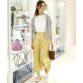 IENA SLOBE - スローブイエナ♡フラワースカートとカーディガン 2点セット セットアップ
