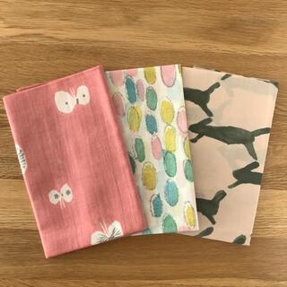mina perhonen - ミナペルホネン 手ぬぐい3枚(ピンク)