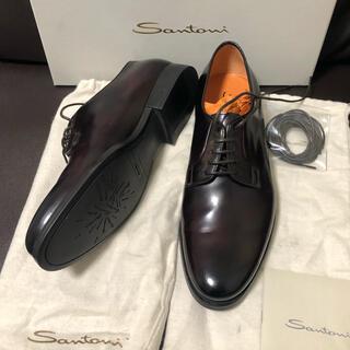 Santoni - 【約9万円・新品】Santoni サントーニ 革靴 ダークブラウン