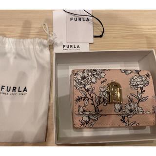 Furla - 新品未使用フルラコンパクトウォレット財布花柄
