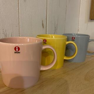イッタラ(iittala)のイッタラ ティーマ マグカップ 3個❣️(グラス/カップ)