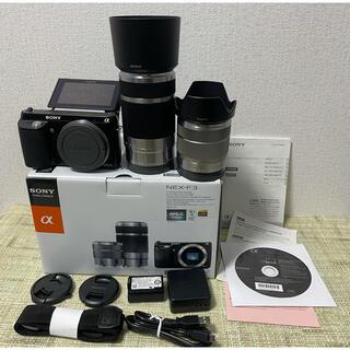 SONY - Sony ソニーNEX-F3ダブルズームレンズキット 自撮り