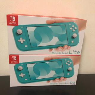 Nintendo Switch - 任天堂Switchライト ターコイズ