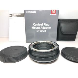 Canon - 新品級 Canon EF-EOS R コントロールリングマウントアダプター
