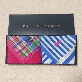 Ralph Lauren - 《未使用》RALPH LAUREN タオルハンカチ セット