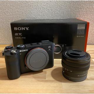 SONY - SONY α7C(ブラック)レンズキット