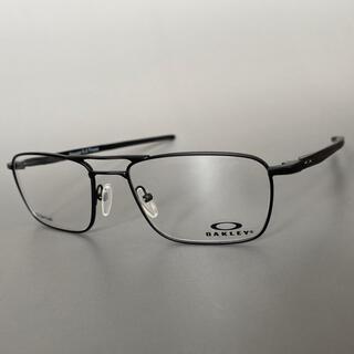Oakley - オークリー ゲージ ブラック チタン メガネ 軽量 フルリム ダブルブリッジ