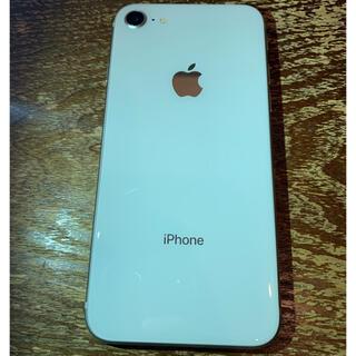 アップル(Apple)の【最終値下げ】iPhone8 64GB silver(スマートフォン本体)