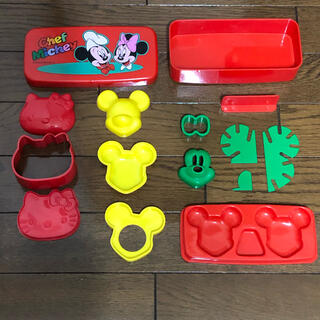 ミッキーマウス(ミッキーマウス)のミッキー ミニー キティ おにぎりグッズ(弁当用品)