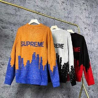Supreme - Supreme 20 ss NewYorkセーター  レッド M