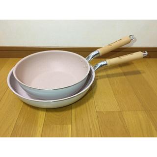 sweet leaf 軽〜いフライパン28cm&深型フライパン24cm