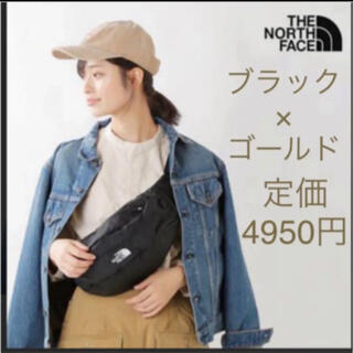 THE NORTH FACE - 【未開封新品】ノースフェイス ボディバッグ 4L ブラック×ゴールド 男女兼用